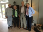 Judy and David Hunt recently visited David and Sally at their home in Cullahill. Lucinda writes to say it was a great visit and much chat was had of old and new times. Lucinda and Pradip provided a curry lunch, cooked by Pradip and enjoyed by all!